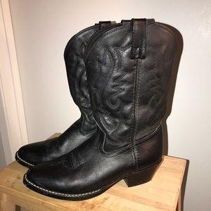 Shoes - Black cowboy boots